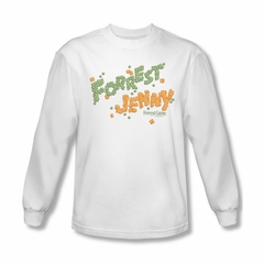Forrest Gump Shirt Peas And Carrots Long Sleeve White Tee T-Shirt