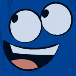 Foster's Home For Imaginary Friends Blue Face Shirts
