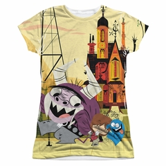 Foster's Home For Imaginary Friends Funny Friends Sublimation Juniors Shirt