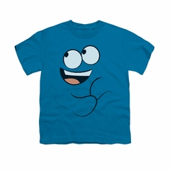 Foster's Home For Imaginary Friends Shirt Kids Blue Smile Turquoise Youth Tee T-Shirt
