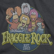 Fraggle Rock Circle Logo Shirts