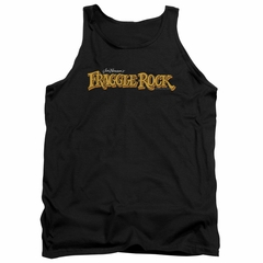 Fraggle Rock Tank Top Logo Black Tanktop