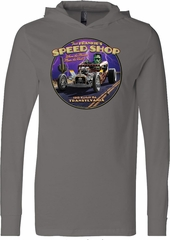 Frankenstein Tee Frankie's Speed Shop Lightweight Hoodie