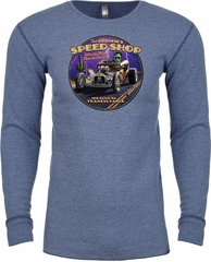 Frankenstein Tee Frankie's Speed Shop Thermal Shirt