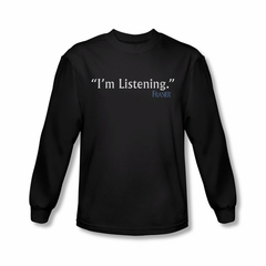 Frasier I'm Listening Shirt Long Sleeve Tee T-Shirt