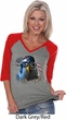 Freedom Fighter Stryker Ladies Three Quarter Sleeve V-Neck Raglan
