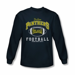 Friday Night Lights Shirt 2007 State Champs Long Sleeve Navy Tee T-Shirt