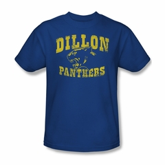 Friday Night Lights Shirt Dillon Panthers Royal Blue T-Shirt