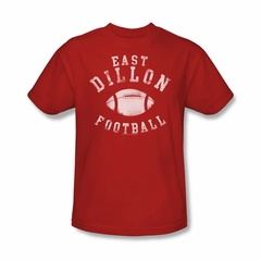 Friday Night Lights Shirt East Dillon Football Red T-Shirt