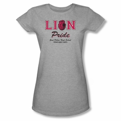 Friday Night Lights Shirt Juniors Lion Pride Athletic Heather T-Shirt