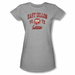Friday Night Lights Shirt Juniors Lions Athletic Heather T-Shirt