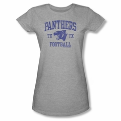 Friday Night Lights Shirt Juniors Panthers Football Athletic Heather T-Shirt