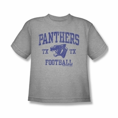 Friday Night Lights Shirt Kids Panthers Football Athletic Heather T-Shirt