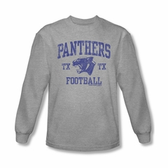 Friday Night Lights Shirt Panthers Football Long Sleeve Athletic Heather Tee T-Shirt