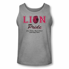 Friday Night Lights Shirt Tank Top Lion Pride Athletic Heather Tanktop