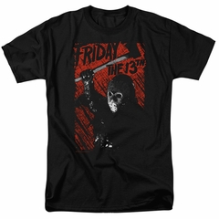 Friday the 13th Shirt Jason Lives Black T-Shirt