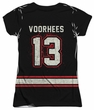 Friday the 13th Shirt Jason Voorhees Jersey Sublimation Juniors Shirt Front/Back Print