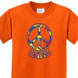 Funky Peace Kids Shirts