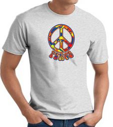 Funky Peace Mens Shirts