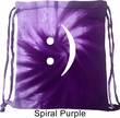 Funny Bag Smiley Chat Face Tie Dye Bag