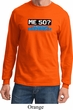Funny Birthday Shirt Me 50 Long Sleeve Tee T-Shirt