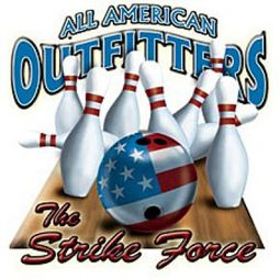 Funny Bowling T-shirt - Strike Force