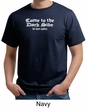 Funny Shirt Come To The Dark Side We Have Cookies Adult Organic Shirt