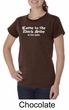 Funny Shirt Come To The Dark Side We Have Cookies Ladies Organic Shirt
