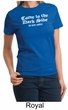 Funny Shirt Come To The Dark Side We Have Cookies Ladies T-shirt