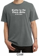 Funny Shirt Come To The Dark Side We Have Cookies Pigment Dyed Shirt