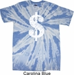 Funny Shirt Distressed Dollar Sign Twist Tie Dye Tee T-shirt