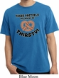Funny Shirt Thirsty Pretzels Pigment Dyed Tee T-Shirt