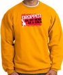 Funny Sweatshirt - Dropped On My Head As A Child Gold Sweat Shirt