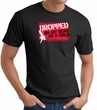Funny T-Shirt - Dropped On My Head As A Child Adult Black Tee Shirt