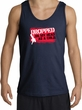 Funny Tank Top - Dropped On My Head As A Child Adult Navy Tanktop