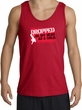Funny Tank Top - Dropped On My Head As A Child Adult Red Tanktop