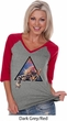 Galactic Cat Ladies V-neck Raglan
