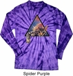 Galactic Cat Long Sleeve Tie Dye Shirt