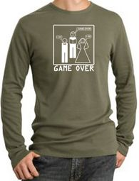 Game Over Ceremony Long Sleeve Thermal T-Shirts