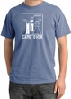 Game Over Ceremony Pigment Dyed Night Blue T-shirt - White Print