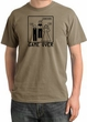 Game Over Ceremony Pigment Dyed Sandstone T-shirt - Black Print