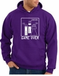 Game Over Marriage Ceremony Hoodie Funny Purple Hoody - White Print