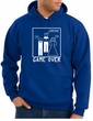Game Over Marriage Ceremony Hoodie Funny Royal Hoody - White Print
