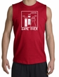 Game Over Marriage Ceremony Shooter Red Muscle Shirt - White Print