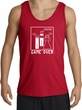 Game Over Marriage Ceremony Tanktop Funny Red Tank - White Print