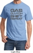 Gas Clutch Shift Repeat Grey Print Shirt