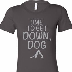 Get Down Dog Ladies Yoga Shirts