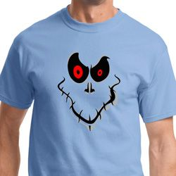 Ghost Face Mens Halloween Shirts