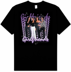 GIRLFRIENDS - CBS TV Show Adult Unisex Black T-shirt
