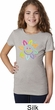 Girls Flower Shirt Sunflower Tee T-Shirt